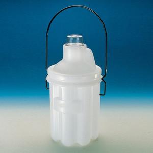 Nalgene® 6501-4000 Solvent Bottles Carrier for 4 Liter Bottles, case/6
