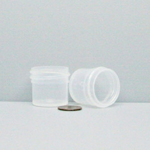 Bulk 0.25 oz 33mm PP Jars, 10mL (no caps), case/2783
