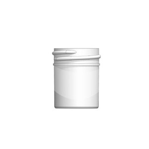 Bulk 0.5 oz 33mm PP Jars, 15mL (1/2 oz), No Caps, case/2024