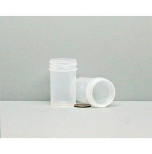 Bulk 7/8 oz 33mm PP Jars, 25mL (no caps), case/1452
