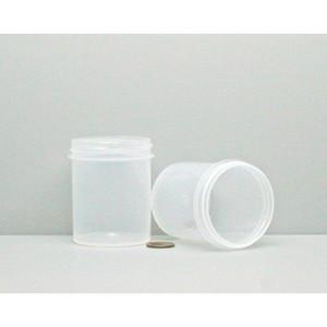 Bulk 4 oz 58mm PP Jars, 125mL (no caps), case/280