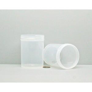 Bulk 6 oz 63mm PP Jars, 175mL (no caps), case/504