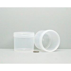 Bulk 4 oz 70mm PP Jars, 125mL (no caps), case/528