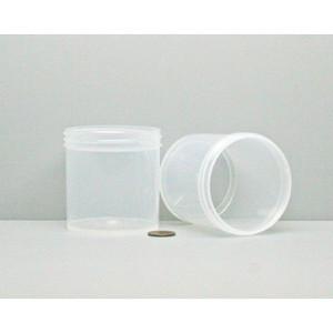 Bulk 6 oz 70mm PP Jars, 175mL (no caps), case/432