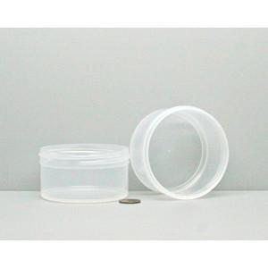 Bulk 4 oz 83mm PP Jars, 125mL (no caps), case/525