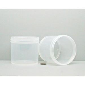 Bulk 12 oz 89mm PP Jars, 350mL (no caps), case/240