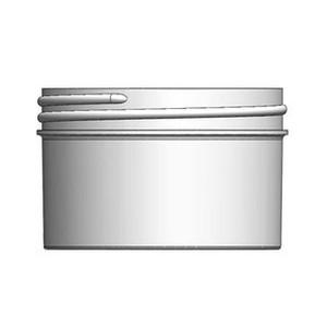 Bulk 10 oz 100mm White PP Jars, 300mL (no caps), case/240
