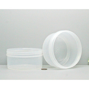 Bulk 16 oz 120mm PP Jars, 450mL (no caps), case/165