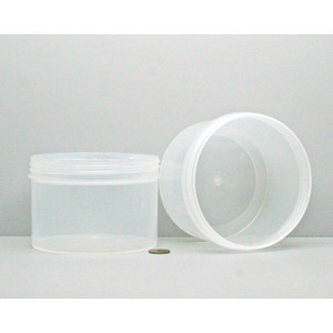 Bulk 24 oz 120mm PP Jars, 650mL (no caps), case/120