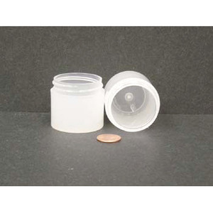 Bulk 1 oz 43mm PP Thick Wall Jars, 25mL (no caps), case/784