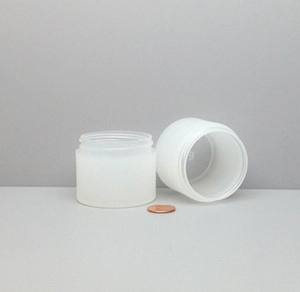 Bulk 2 oz 53mm PP Thick Wall Jars (Frosted) 60mL (no caps), case/504