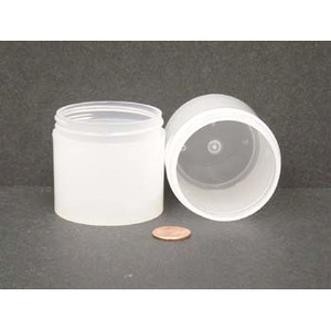Bulk 3 oz 58mm PP Thick Wall Jars, 80mL (no caps), case/396