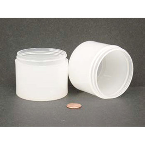 Bulk 4 oz 70mm PP Thick Wall Jars, 150mL (no caps), case/200