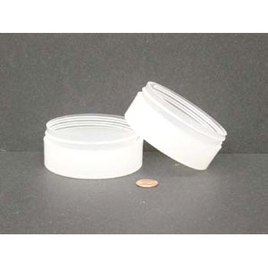 Bulk 4 oz 89mm PP Thick Wall Jars, 150mL (no caps), case/216