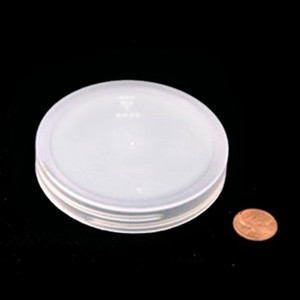 83mm (83-400) Natural PP Heat Seal Lined Smooth Cap, Each