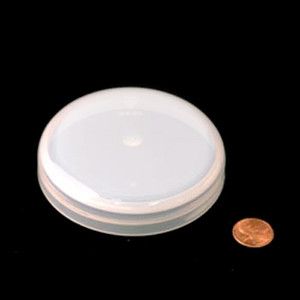 89mm (89-400) Natural PP Foam Lined Dome Cap, Each