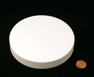 120mm (120-400) Natural PP Pressure Sensitive Lined Smooth Cap, Each