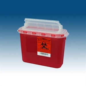 Sharps Containers, 5.4 Qt for use BD Wall Cabinets, case/20