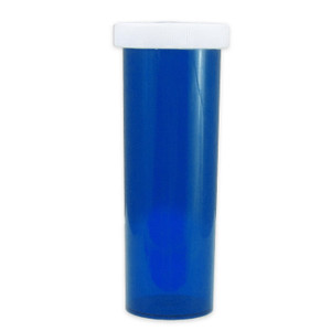 Blue Pharmacy Vials, Child-Resistant, Blue, 60 dram (222mL), case/115