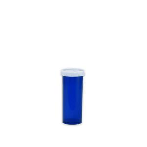 Blue Pharmacy Vials, Easy Snap-Caps, Blue, 6 dram (22mL), case/650