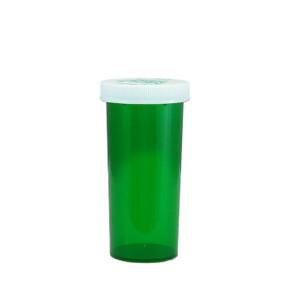Green Pharmacy Vials, Child-Resistant, Green, 30 dram (111mL), case/240