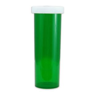 Green Pharmacy Vials, Child-Resistant, Green, 60 dram (222mL), case/115