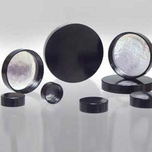 24-400 Black Phenolic Cap with Aluminum Foil Liner, Each