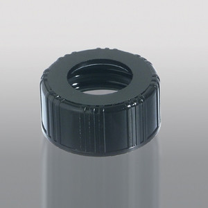 20-400 Black Phenolic Unlined Hole Cap, Each