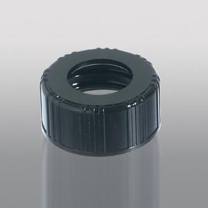 20-400 Black Phenolic Unlined Hole Cap, Each