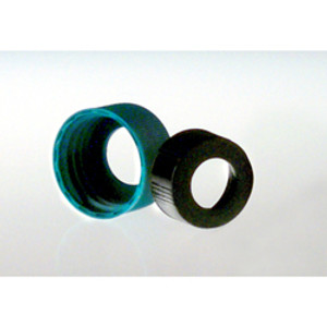 22-400 Black Phenolic Unlined Hole Cap, Each