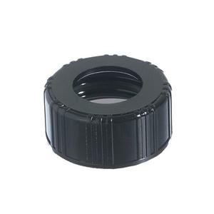 24-400 Black Phenolic Unlined Hole Cap, each