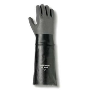 "Ansell 19-024 Thermaprene 18"" Chemical Gloves for Acids, Alcohols"