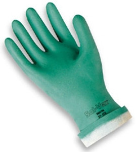 Nitrile Chemical Resistant Gloves, Sol-Vex, Lined, 24 Pair