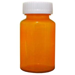 Amber Vitamin Pill Bottles, Child Resistant Cap, 50 dram (185mL), case/90