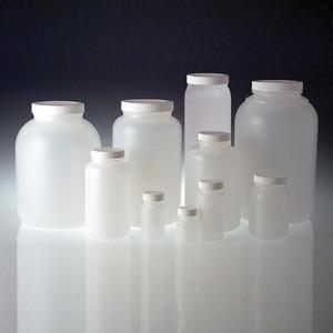 HDPE, Wide Mouth Bottle, 4 oz, 38-400 Unlined Cap, 4 oz, case/48