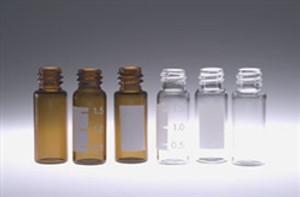 Chromatography Vials, 2mL, Clear Screw Thread, No Caps, case/1000