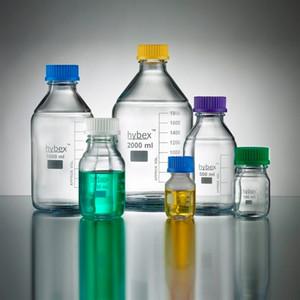 Media Bottle, Hybex 1000mL with GL-45 cap, case/10