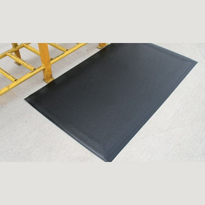 "Anti-Fatigue Mat, Dura Step, 1/2"", Black, 2 x 60"