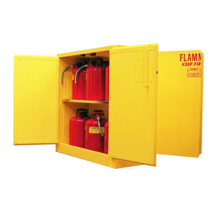 Flammable Storage Cabinet 45 gal Self-Close, Self-Closing Safe-T-Door