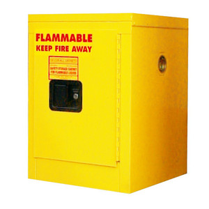 Securall® Flammable Storage Cabinet, 4 gal, Self-Closing Door