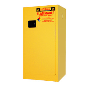 Securall® Flammable Storage Cabinet, 16 gal, Self-Closing Door