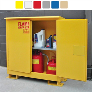 Weatherproof outdoor cabinet, 45 gal Self-Close, Self-Closing