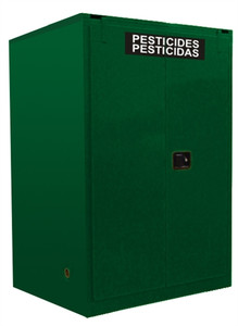 Securall® AGV1110 Pesticide Storage Cabinet, 120 gal, Self-Closing 2-Door