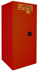 Flammable Paint & Ink Storage Cabinet 120 gal, Self-Closing Standard 2-Door
