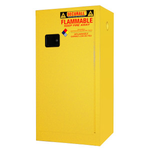 Securall® Flammable Paint Storage Cabinet 20 gal, Self-Closing Door