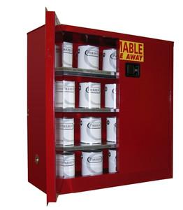 Flammable Paint & Ink Storage Cabinet 40 gal, Self-Closing Standard 2-Door