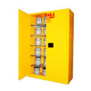 Flammable Paint & Ink Storage Cabinet 60 gal, Self-Closing Standard 2-Door