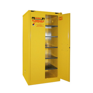 Paint Storage Cabinet 120 gal Self-Close, Self-Closing Safe-T-Door