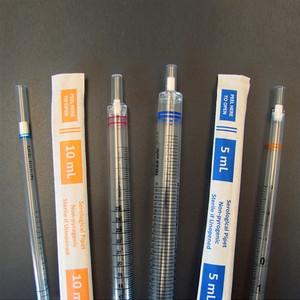 Serological Pipettes, 5mL, Bulk Packaged, Sterile (packed 25 per bag), 500/case