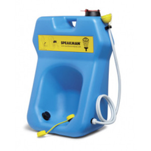 Portable Eyewash Station / Body Drench, 20 gal gravity-feed